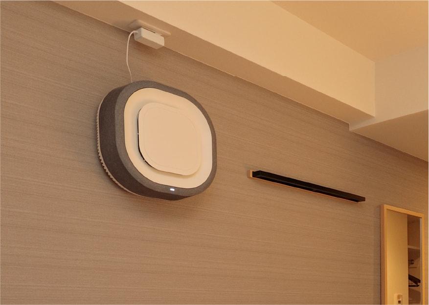 空気清浄機「Aura Air」設置